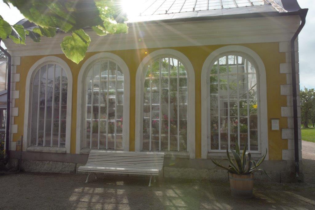 Växthus på Julita gård